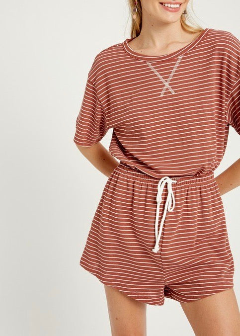 Ashlyn Stripe Top