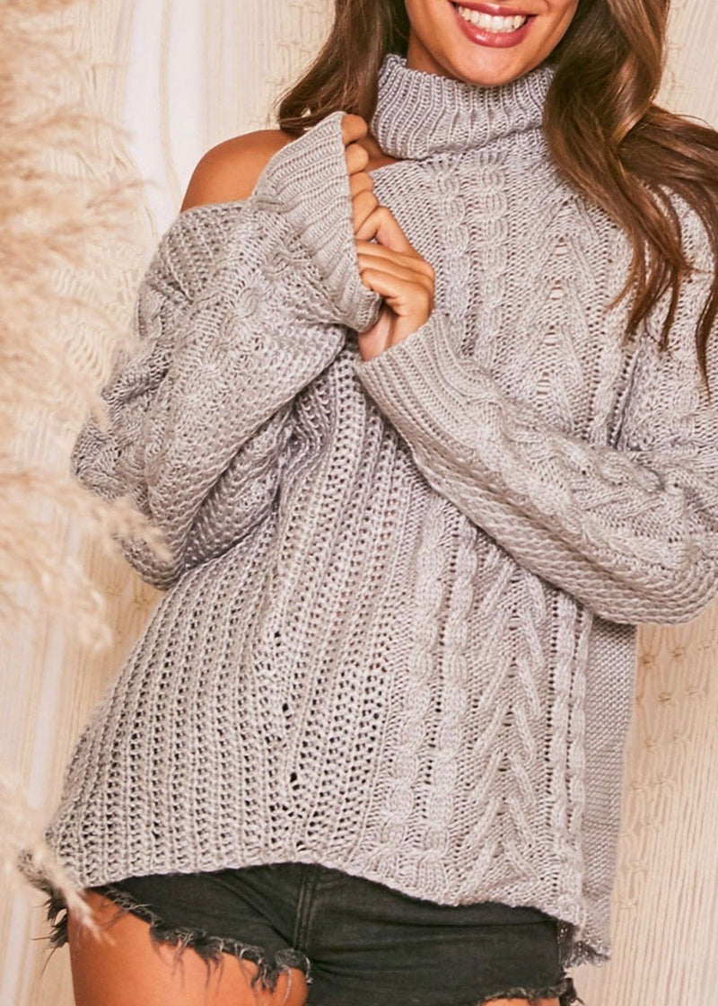 Dana Cable Knit Sweater
