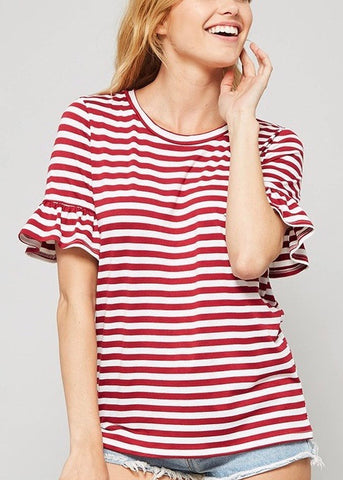 Sue Stripe Tee