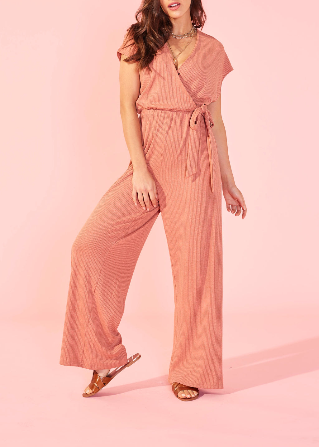 Shawl Jumpsuit