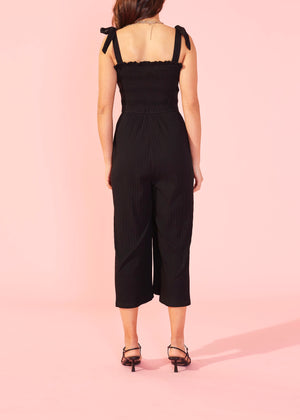 Kyla Shirred Jumpsuit