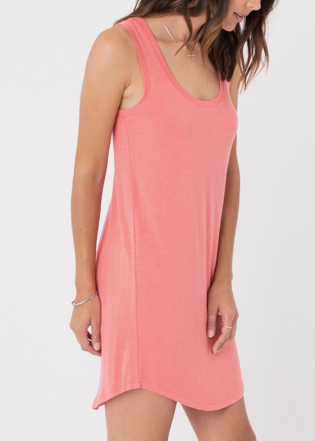 The Coastline Dress - Spiced Coral