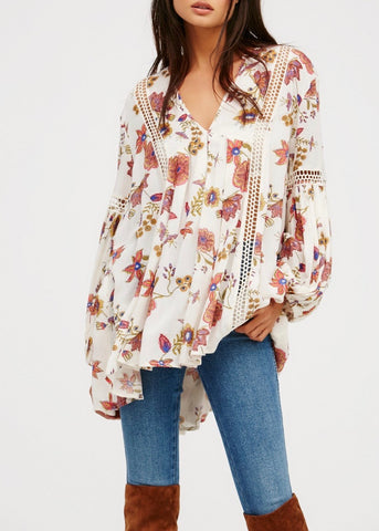 Just the Two of Us Printed Tunic