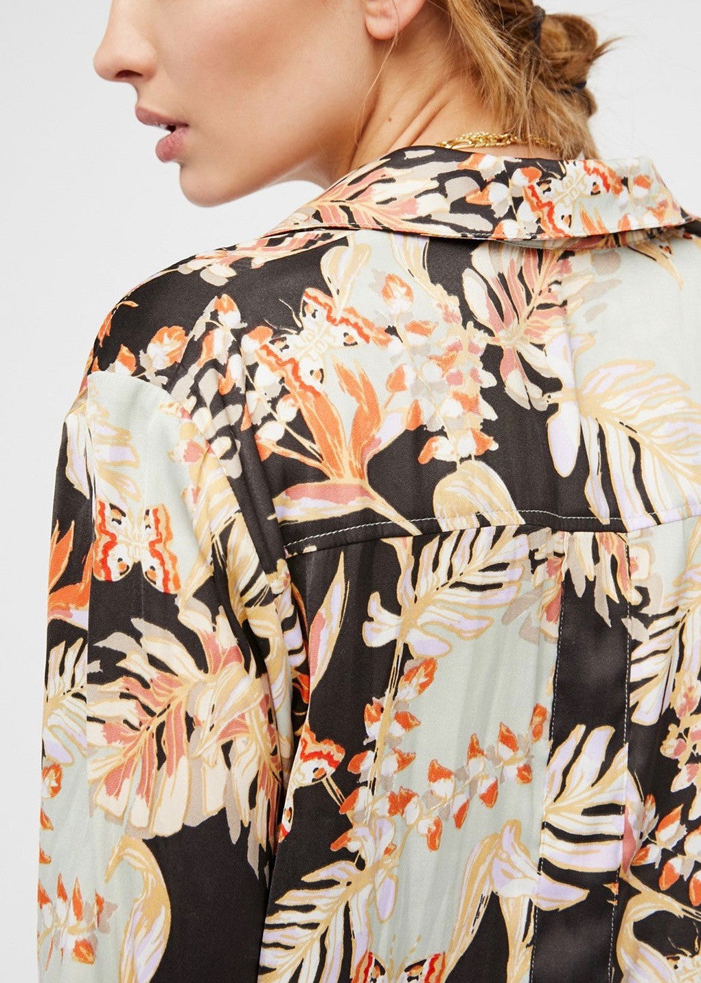 Under The Palms Button Down