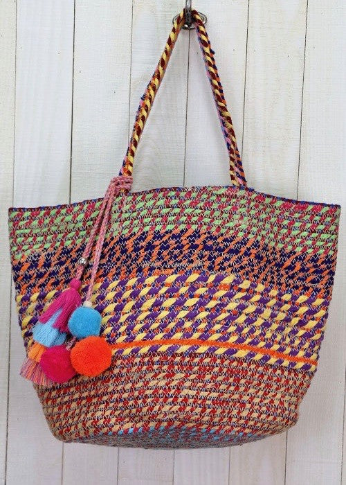 Upcycled Summer Tote
