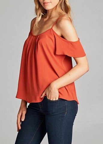 Dani Cold Shoulder Top