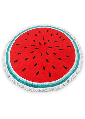 Watermelon Terry Cloth Beach Towel