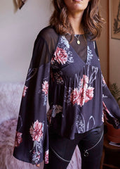 Homecoming Floral Blouse