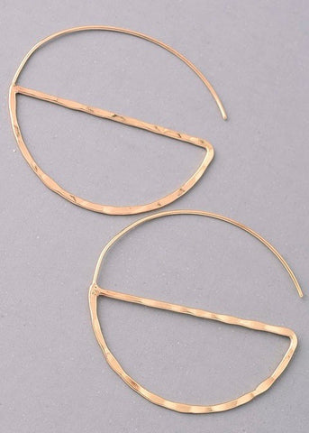 Azelie Hoop Earrings