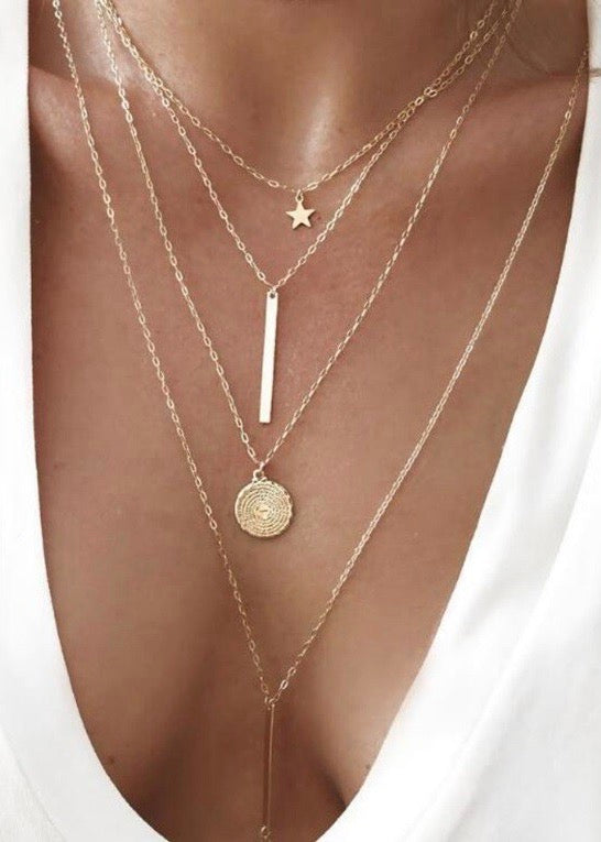 Boho Multilayer Necklace