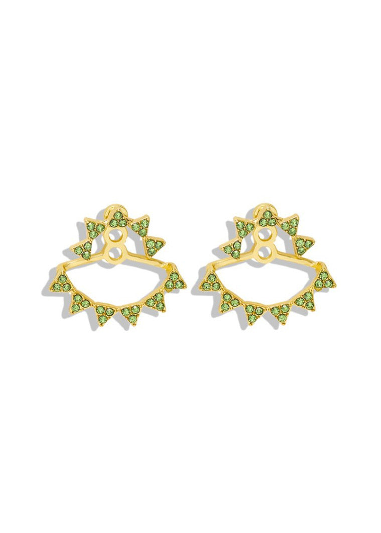Lime Crystal Ear Jacket