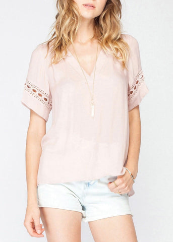 Abby Button Up Top
