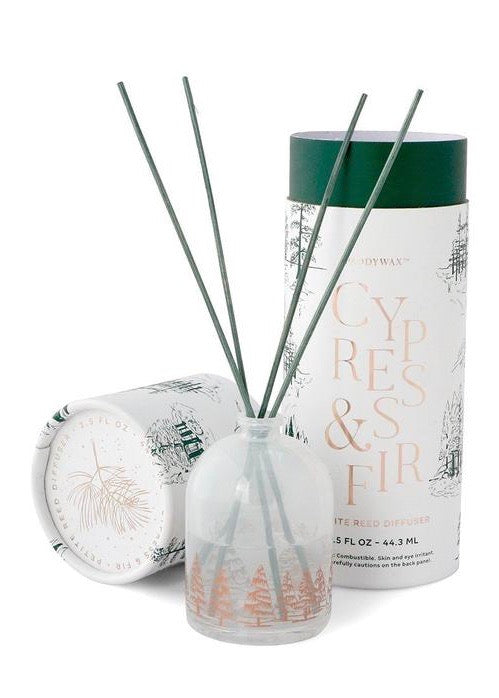 White Petite Reed Diffuser