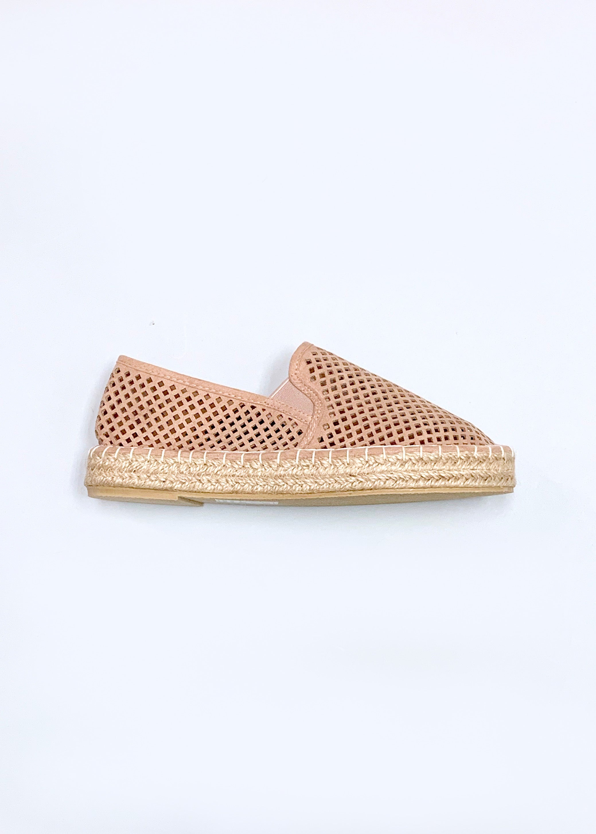 Perforated Slip-On Espadrille