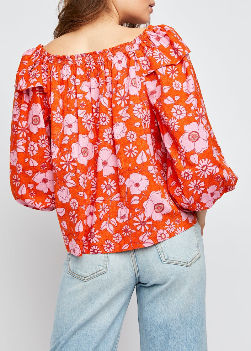 Miss Daisy Printed Top