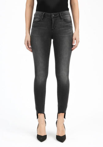 Stephanie Step Hem Skinny