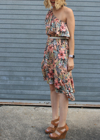 Wattle Wonder Shoulder Dress