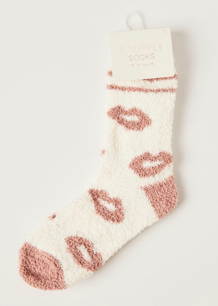 Lip Plush Socks