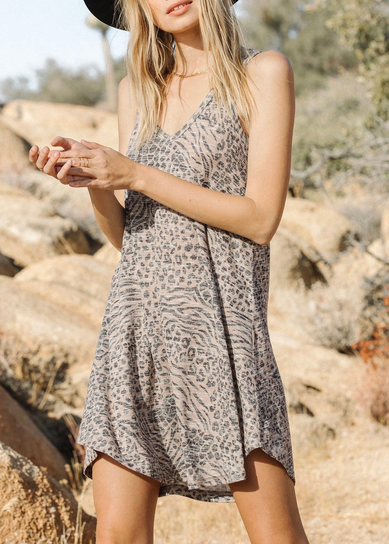 Breezy Animal Dress