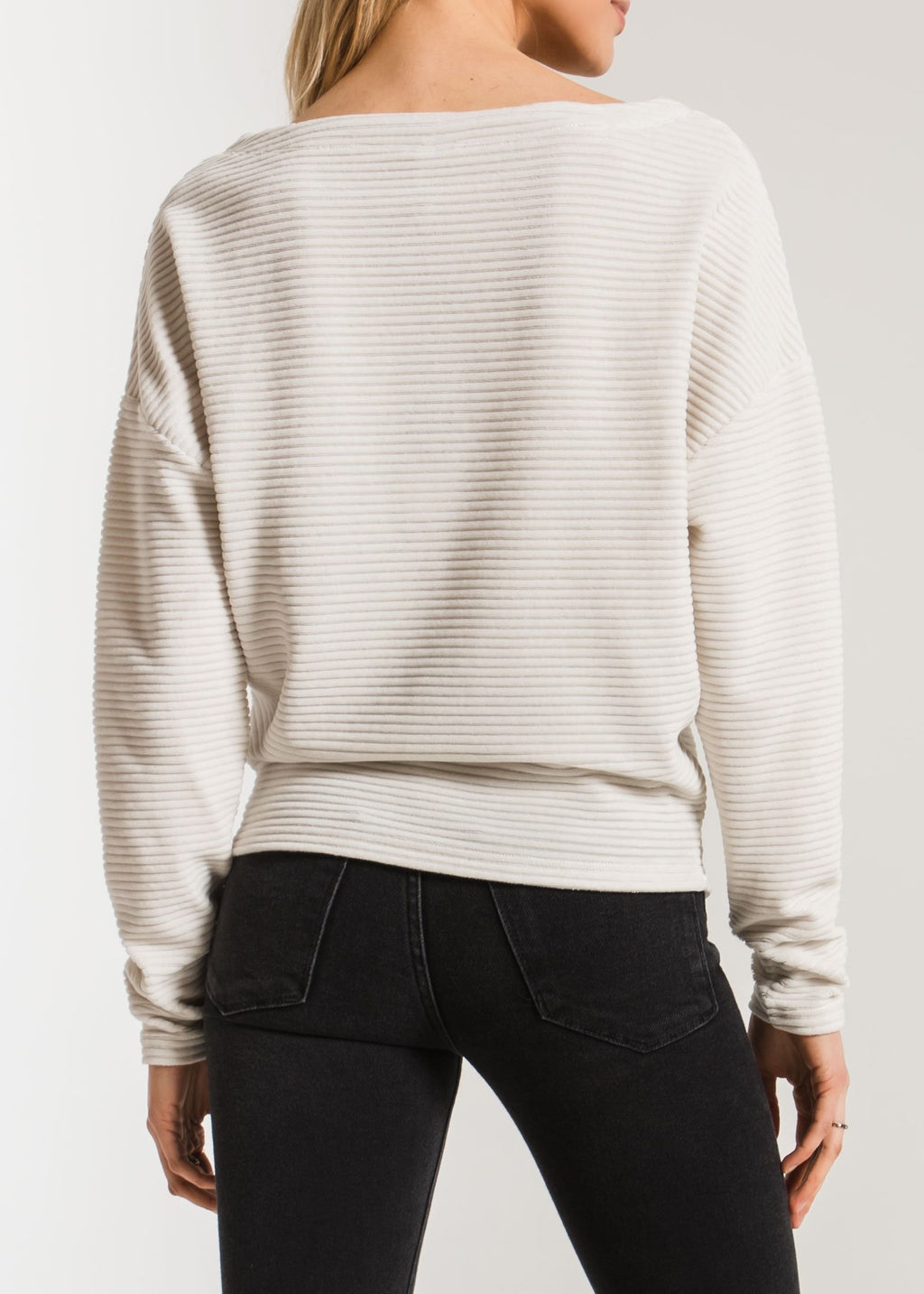 The Knit Corduroy Top