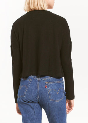 Cher Slub Sweater Top