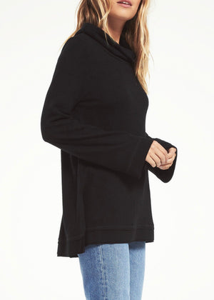 Ali Cowl Slub Sweater