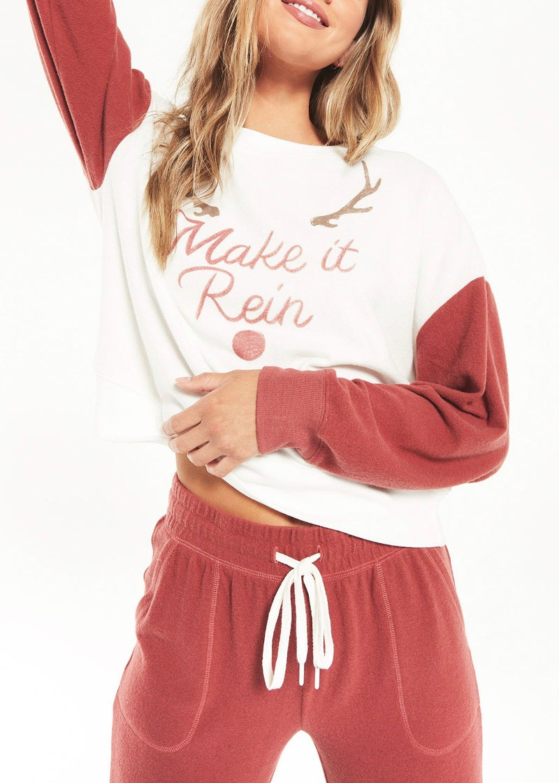 Elle Make It Rein Sweatshirt