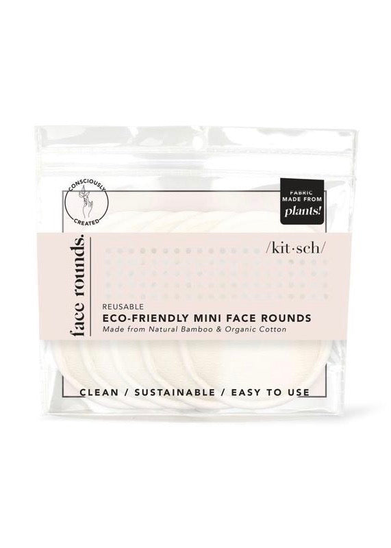 Eco-Friendly Reusable Mini Face Rounds
