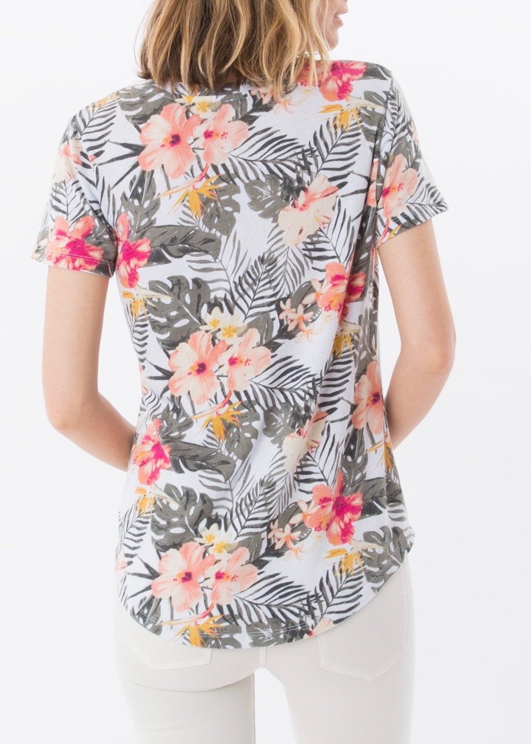 The Tropical Pocket Tee