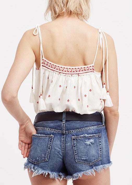 Eternal Love Embroidered Top