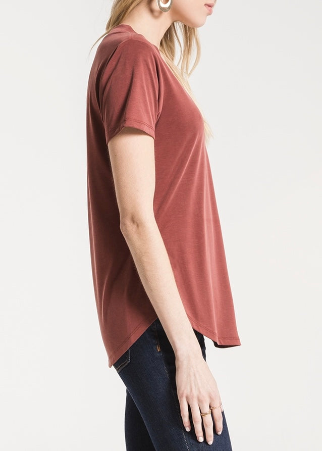 The Lux Modal V-Neck Tee