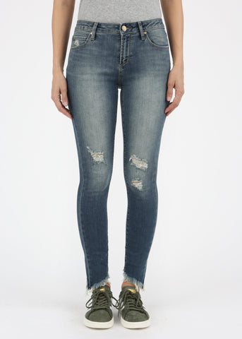 Carly Release Hem Jeans