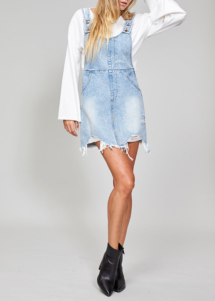 Highway Denim Pinnie Dress