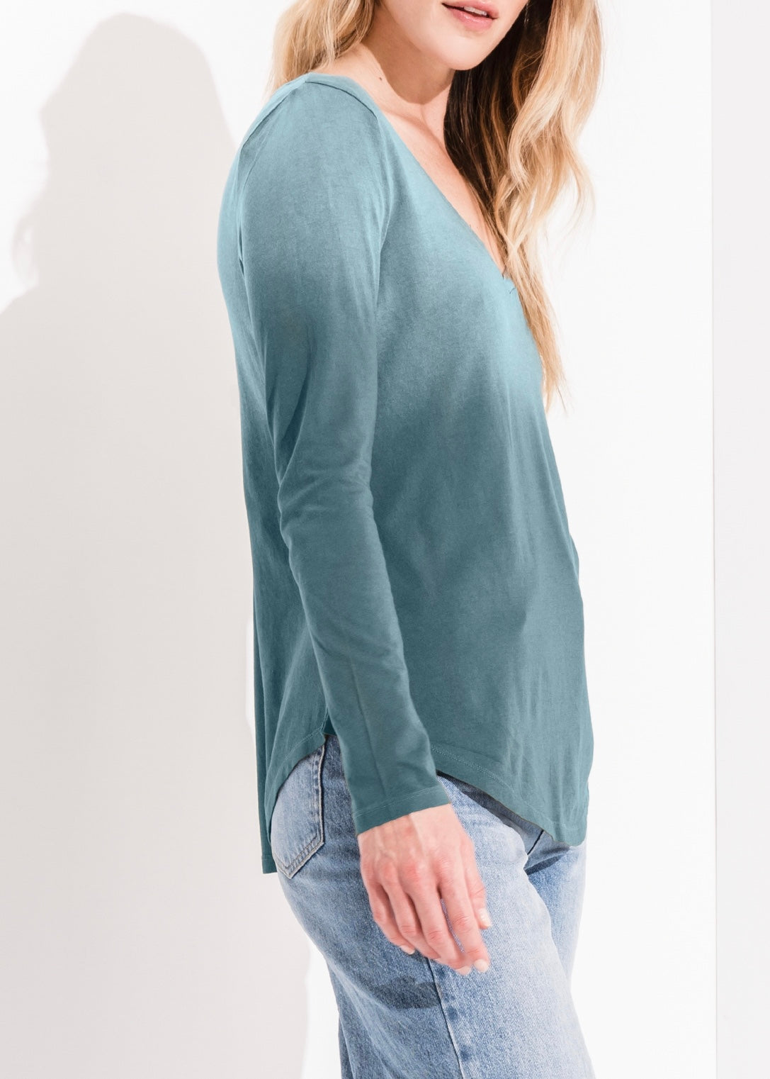 The Ombre Long Sleeve Tee