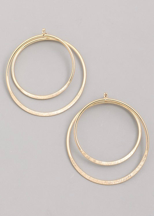 Mila Circle Earring