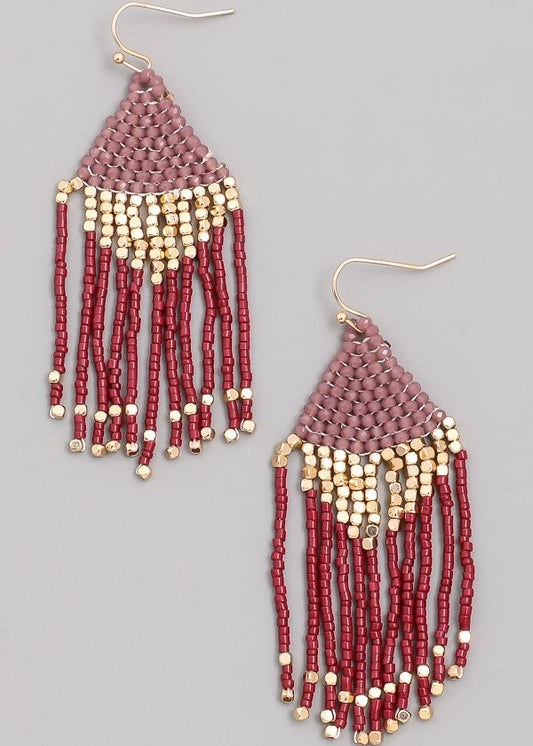 Byanca Beaded Earring