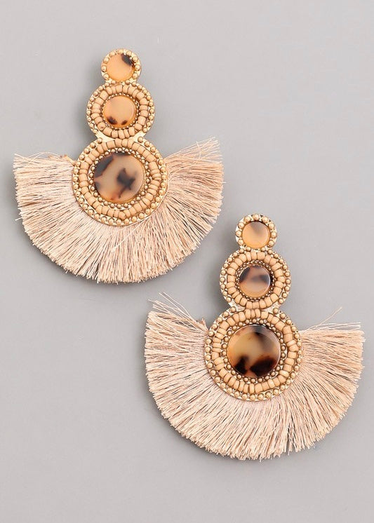 Bettina Fan Earring