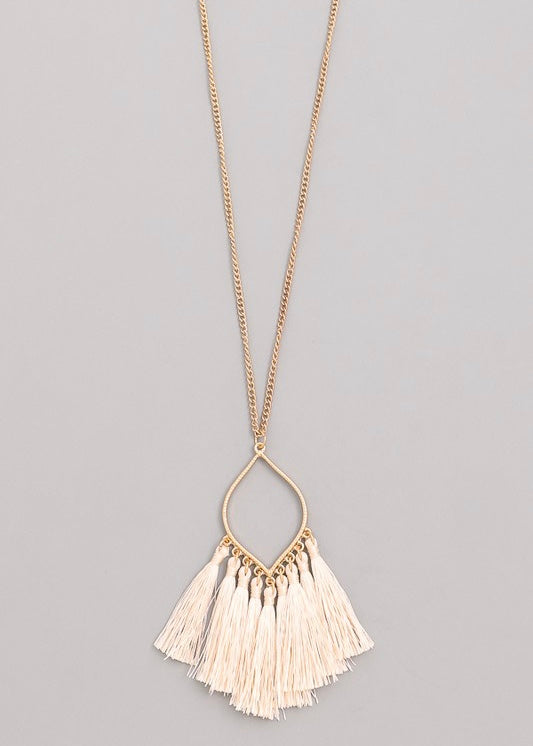 Charlene Tassel Necklace