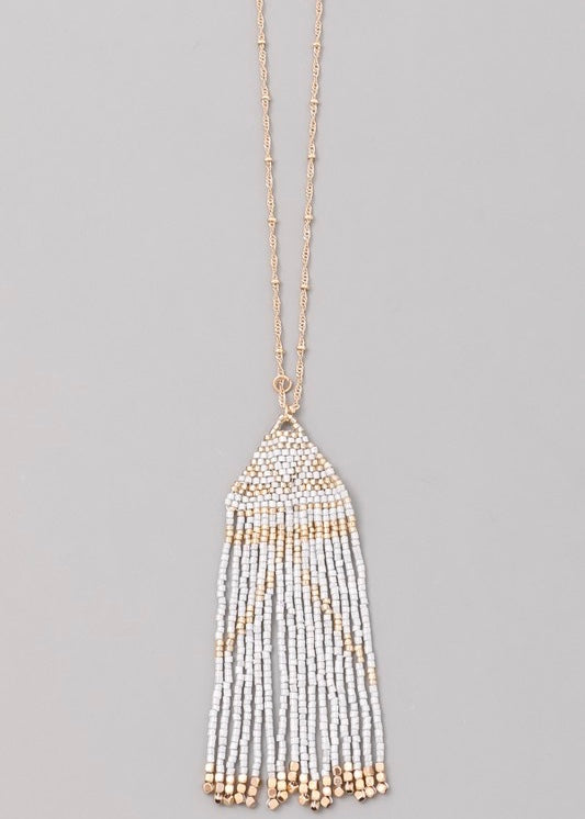 Lynn Beaded Necklace