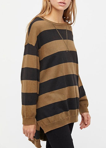 Surfin On Your Stripes Sweater
