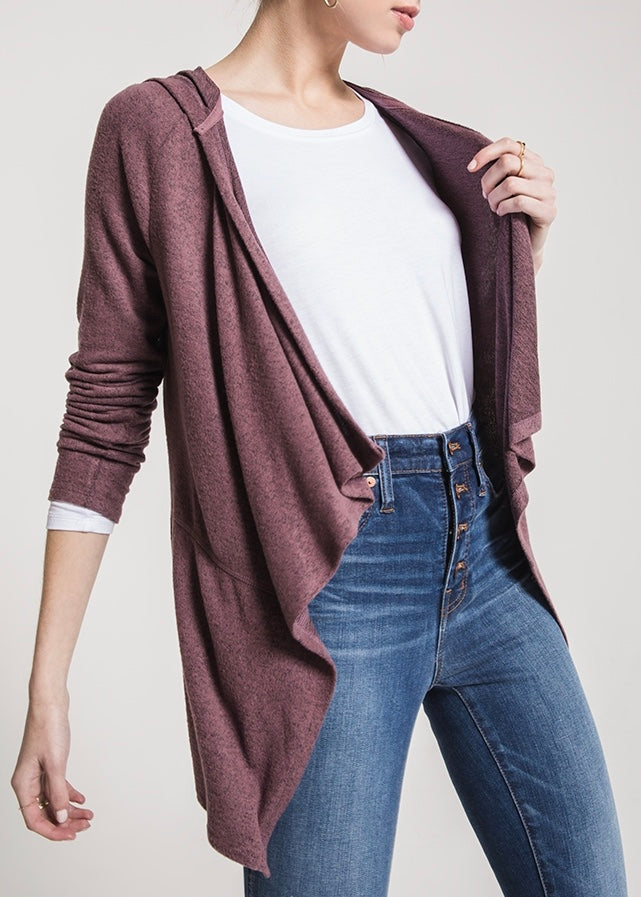 The Marled Waterfall Cardigan