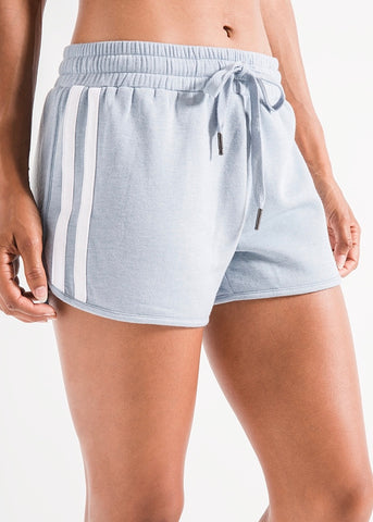 The Feathered Fleece Short