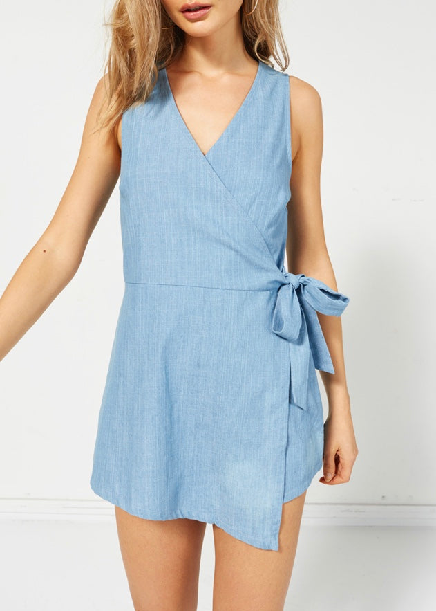 Rumor Wrap Playsuit