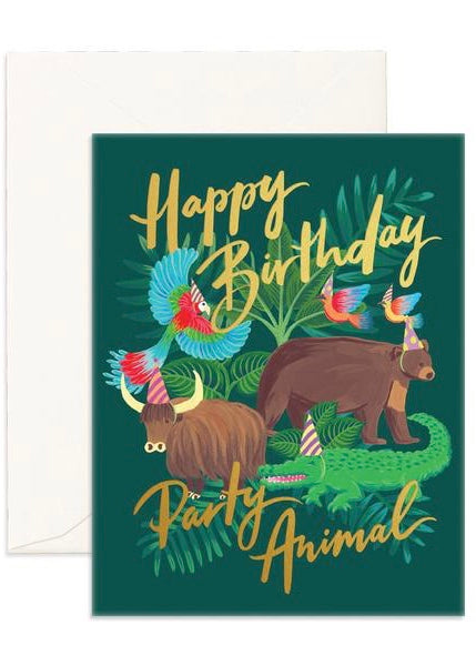 Party Animal Card