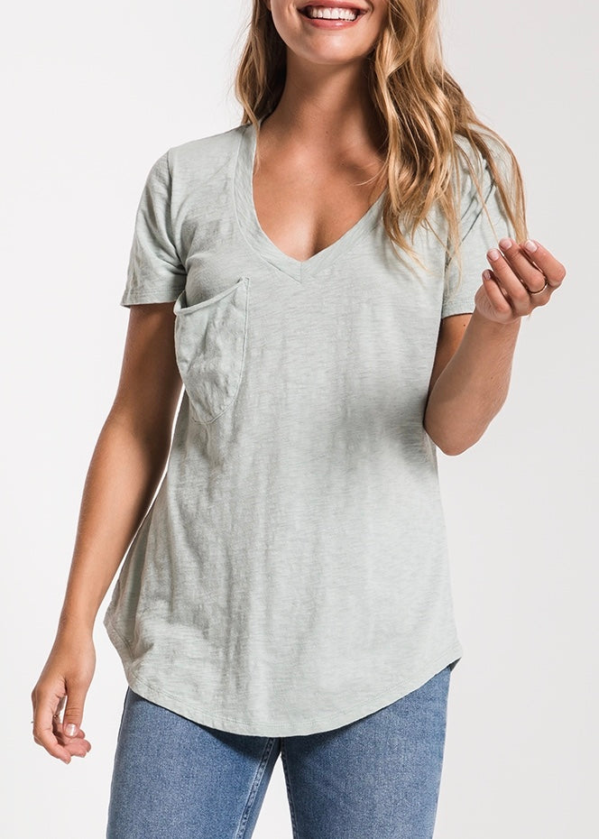 The Cotton Slub Pocket Tee