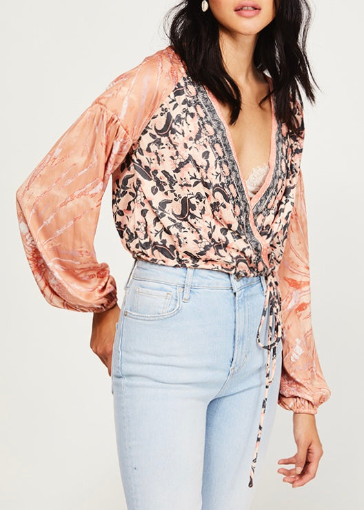 Cruisin Together Printed Blouse