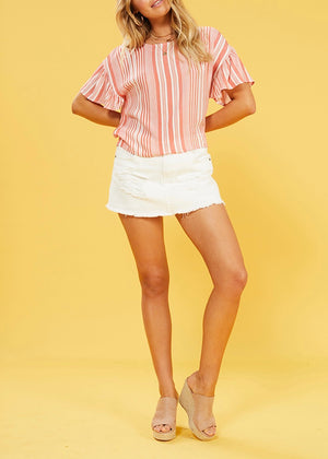 Ocean Side Stripe Top