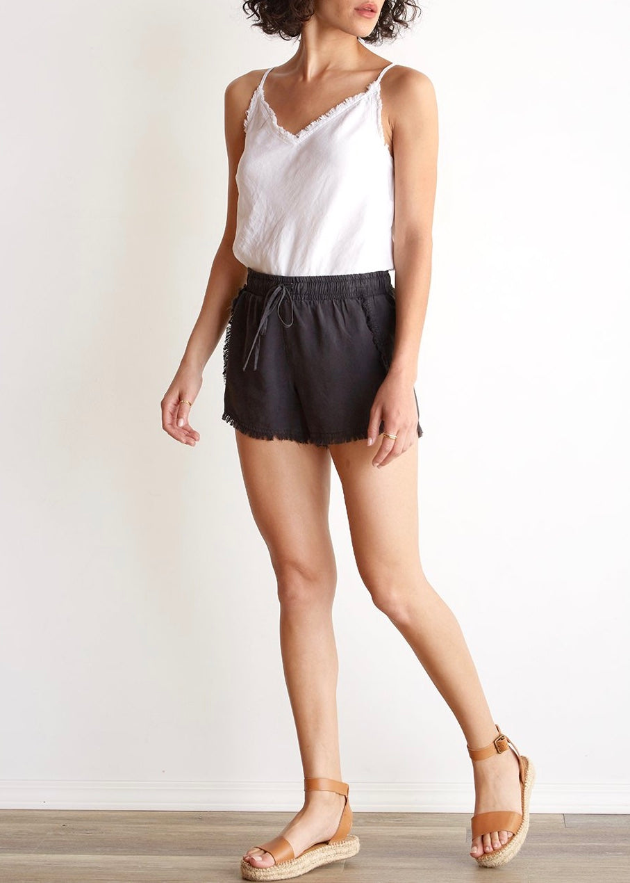 Frayed Sporty Short