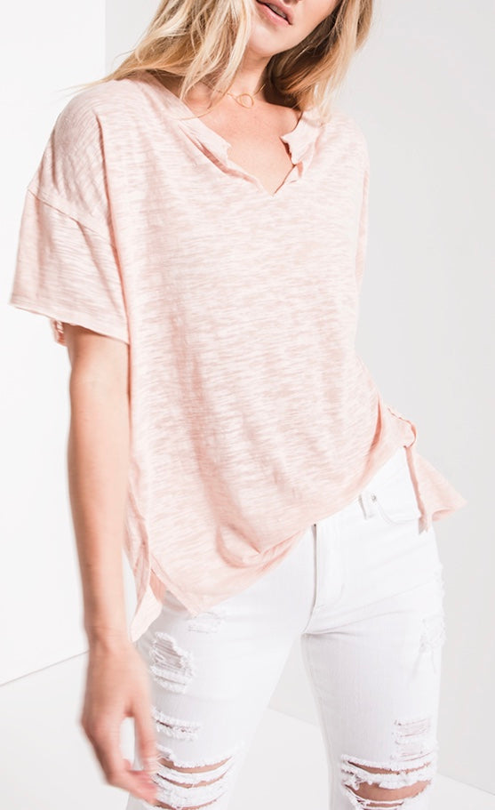 The Airy Slub Slouchy Tee
