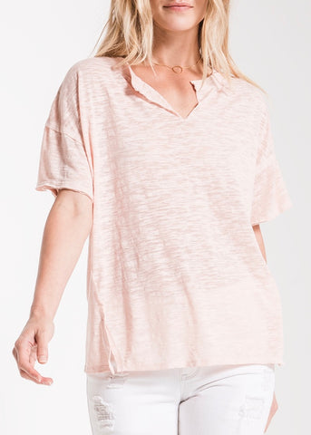 Ribbed V-Neck Brami